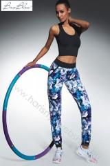 ab2d66d631 200 den Bas Bleu, CHALICE mintás sport leggings nadrág